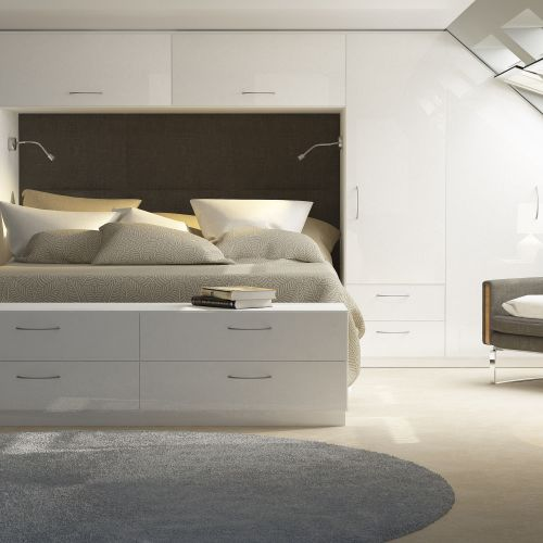 Create Bedroom   Capri White Gloss