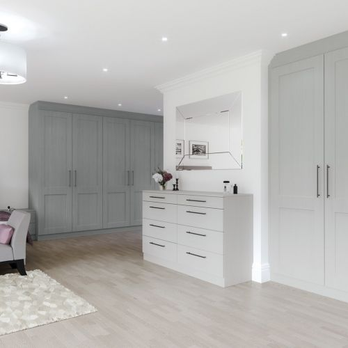 Light Grey Oak And Dust Grey Oak Matfen